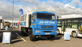 KAMAZ-terrain running on methane Stock Photography