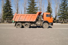 Kamaz truck Stock Photo