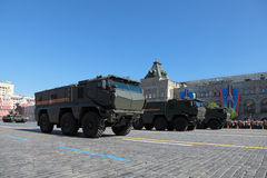KAMAZ-63968 Typhoon Stock Photo