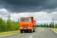 KAMAZ 6522 Stock Photos