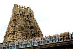 Kambareswarar Tempelkontrollturm, Indien Stockfoto