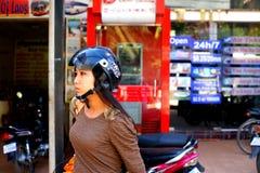 Kambodżańska dziewczyna. obrazy stock