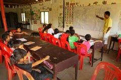 kambodżański opieki dzieciaków projekt Obrazy Stock