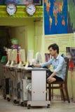 Kambodżański turystyczny biuro, niski sezon Zdjęcie Royalty Free