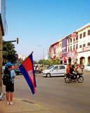 Kambodżański uczeń Obrazy Stock