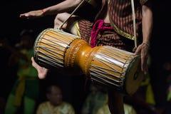 Kambodżańskich sztuk tradycyjny kulturalny taniec mówi historię Apsara i inny Obrazy Stock
