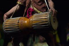 Kambodżańskich sztuk tradycyjny kulturalny taniec mówi historię Apsara i inny Obraz Royalty Free