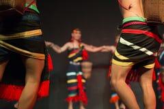 Kambodżańskich sztuk tradycyjny kulturalny taniec mówi historię Apsara i inny Zdjęcie Stock