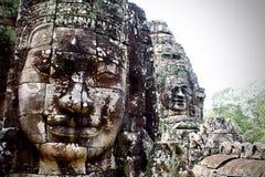 Kambodżańskie twarze zdjęcie stock