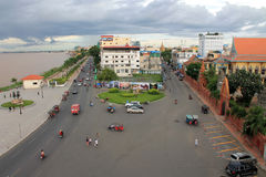 Kambodża Phnom Penh piękny obrazy royalty free