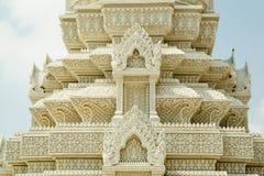 Kambodża Royal Palace, stupa Fotografia Royalty Free