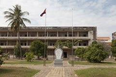 Kambodża - S-21 więzienia muzeum Obraz Stock