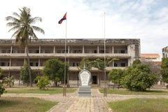 Kambodża - S-21 więzienia muzeum Obraz Royalty Free