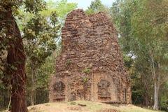 Kambodża Sambor Prei Kuk świątynia Kampong Thom prowincja Kampong Thom miasto Fotografia Stock