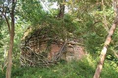 Kambodża Sambor Prei Kuk świątynia Kampong Thom prowincja Kampong Thom miasto Obrazy Stock
