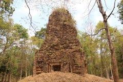 Kambodża Sambor Prei Kuk świątynia Kampong Thom prowincja Kampong Thom miasto Zdjęcie Stock