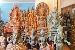 Kambodża, Siem Przeprowadza żniwa, Styczeń 22, 2014 prezenta sklep Zdjęcie Stock