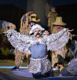 Kambodża tana przedstawienia maski zawody międzynarodowi festiwal Obrazy Royalty Free