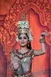 Kambodża Tradycyjny taniec obraz royalty free