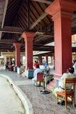 Kambodża, Wietnam przejście graniczne/ zdjęcia royalty free