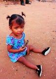 Kambodża dziewczyna Zdjęcia Royalty Free