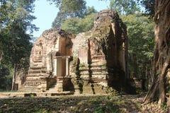 Kambodża Sambor Prei Kuk Kampong Thom prowincja Kampong Thom miasto Fotografia Royalty Free