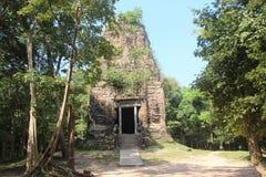 Kambodża Sambor Prei Kuk Kampong Thom prowincja Kampong Thom miasto Zdjęcia Royalty Free