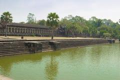 Kambodja Angkor Wat. Royaltyfri Foto