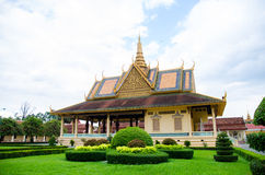 Kambodja Royal Palace 7 Royalty-vrije Stock Afbeelding