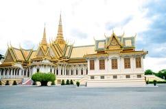 Kambodja Royal Palace Royalty-vrije Stock Fotografie