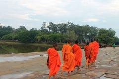 Kambodja Siem oogst Angkor Wat Royalty-vrije Stock Foto's