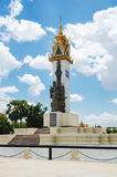Kambodja-Vietnam Herdenkingsmonument 2 Stock Foto