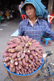 kambodjansk gatavender Royaltyfria Bilder
