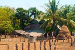 Kambodjansk lantgård Royaltyfria Bilder