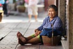 Kambodjansk liten flickastående Royaltyfri Fotografi