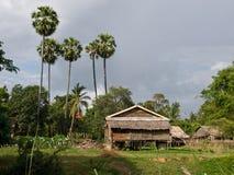 kambodjanskt vardagsliv Arkivbild
