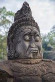 Kambodscha, alte Statue Lizenzfreie Stockfotos
