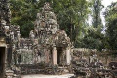 Kambodscha, alter Tempel Stockbild
