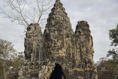Kambodscha, alter Tempel Lizenzfreie Stockfotografie