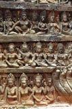 Kambodscha; Angkor; Aussätzigkönigterrasse Lizenzfreies Stockbild