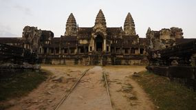 Kambodscha Angkor Wat Stockfoto
