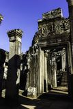 Kambodscha ruinieren alten Bayon-Tempel stockfoto