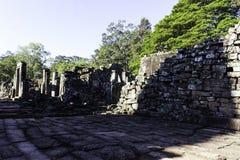 Kambodscha ruinieren alten Bayon-Tempel lizenzfreies stockbild
