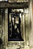 Kambodscha ruinieren alten Bayon-Tempelstein stockbild