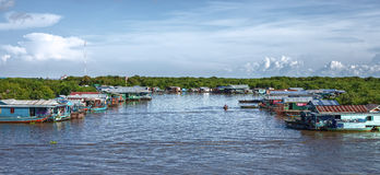 Kambodschanische Leute Lizenzfreie Stockbilder