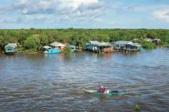 Kambodschanische Leute leben Stockbilder