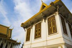 Kambodschanische Royal Palace-Gebäude Lizenzfreies Stockfoto