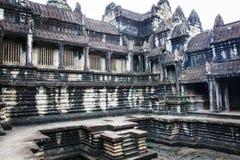 Kambodschanische Tempelruinen stockfotografie