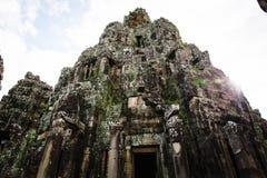 Kambodschanische Tempelruinen lizenzfreie stockbilder