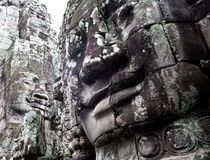 Kambodschanischer Tempel Stockfotografie